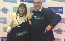 Don't forget to snap your #selfie on our wall at @fitshow stand 128 & grab your FREE Optima T-Shirt!
